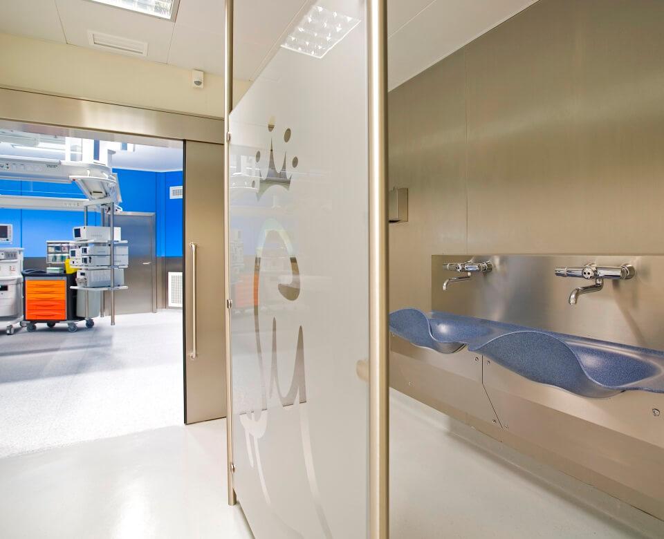 entrada de hospital