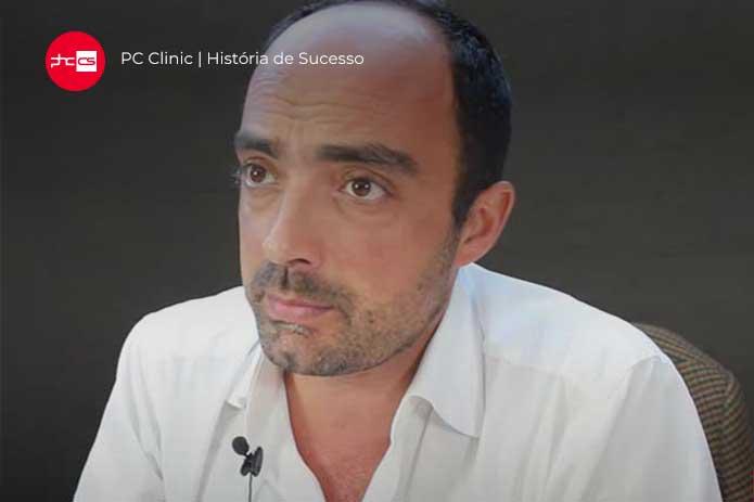 Ricardo Sousa Fundador da PC Clinic