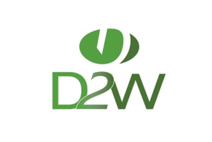d2w logotipo
