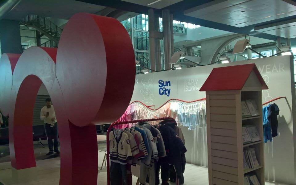loja de roupa de criança