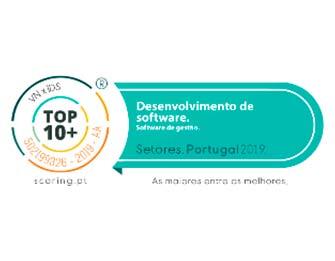logotipo do premio de melhor desenvolvimento de software em Portugal
