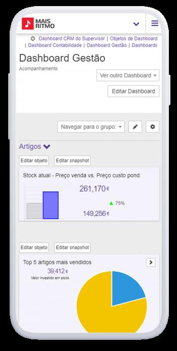 software de gestão phc cs mobile